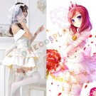 Nishikino Maki Cosplay Costumes Romantic Uniform Love Live Awakening Lolita princess Dresses