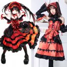 DATE A LIVE Nightmare Cosplay costume Tokisaki Keurumi Anime cosplay fancy dress