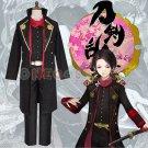 The Sword Dance/Touken Ranbu Cosplay Costume Kashuu Kiyomitsu Battle Uniform Outfit Samurai Clothes