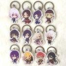 Touken Ranbu Online Cosplay Kashuu Kiyomitsu Key Chains Pendants Rin Charm Collection Keychains