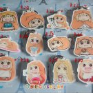 Himouto! Umaru-chan Cosplay Accessories Key Chains Doma Umaru Keychains  for Cars Bags Pendants