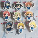 Love Live! Cosplay Accessories Nico Sonoda School Uniform Key Chains Minami Kotori Charm Pendants