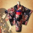 Anime Hell Girl Cosplay Costumes Enma Ai Kimono Women Yukata