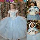 Winter Baby Princess Dresses Newest Christmas Girl Dress Anna Elsa Costumes The Snow Queen Dress