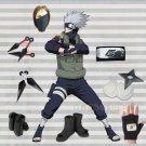 Naruto Hatake Kakashi Costume and Accessories Set