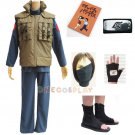 Naruto Cosplay Clothes Hatake Kakashi Costume Set with Note Book