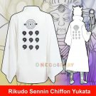 Rikudo Sennin Bathrobes Chiffon Yukata Naruto Ootutuki Hagoromo Cosplay Costumes Unisex Coat