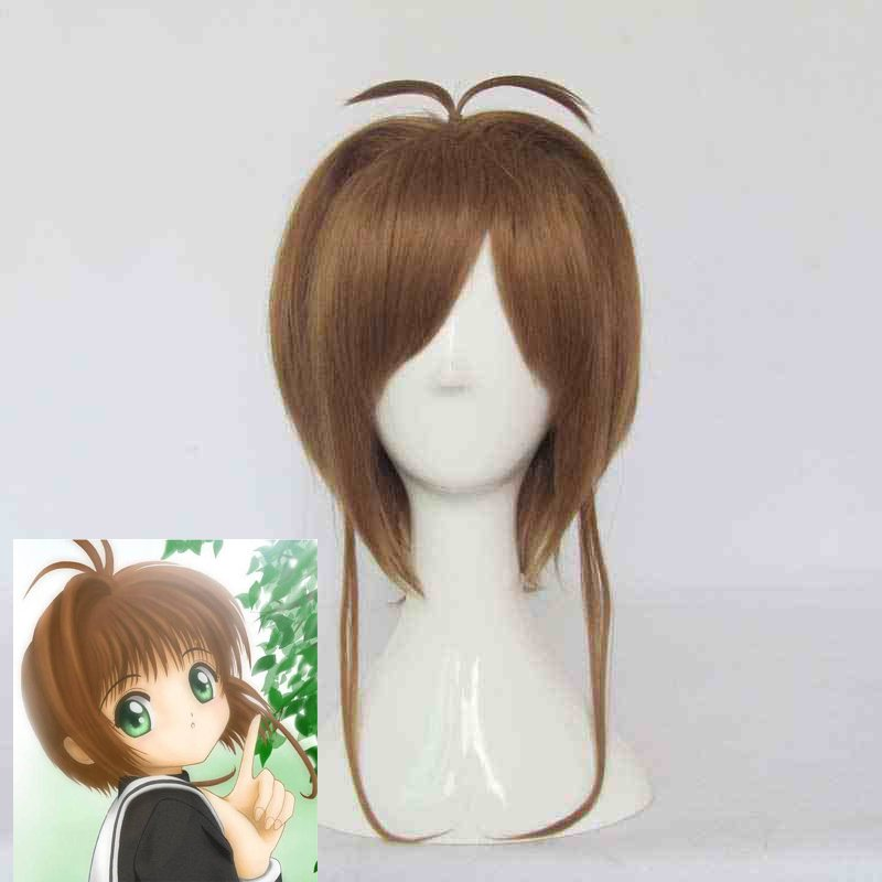 Anime SAKURA Cosplay Wig Sakura Kinomoto cosplay Wig