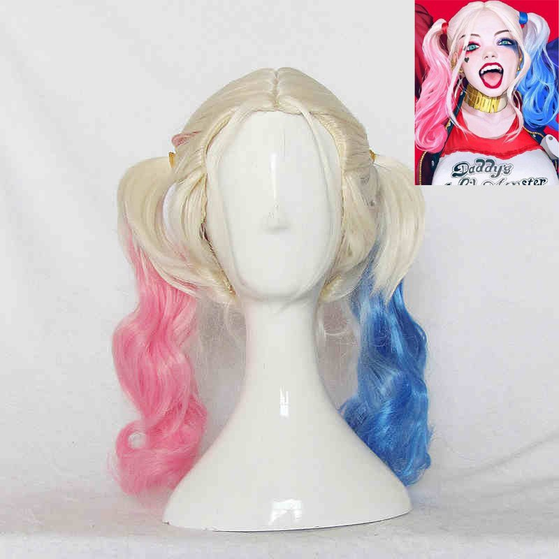 Suicide Squad Cosplay Wig Harley Quinn cosplay Wig