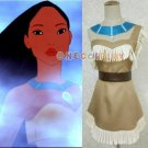 Pocahontas Cosplay Costumes Indian Squaw Cowgirl Princess Women Fancy Party Dress Custom Made