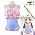 Kobayashi-san Chi no Maid Dragon Cosplay Costume Kanna Swimwear Sukumizu Bathing Suit