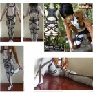 Attack On Titan Cosplay Costumes Shingeki No Kyojin Recon Corps Harness Belts Hookshot Straps