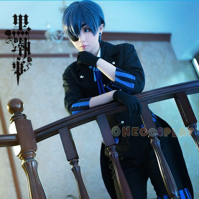 Book of the Atlantic Ciel Cosplay Cotumes Black Butler Ciel Phantomhive Cos Clothes
