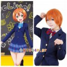 Love live! school idol project Cosplay Wig Rin Hoshizora Cos Wig