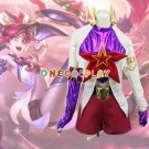 Game LOL The Lady Of Luminosity Lux Cosplay Costumes Jinx Fancy Outfit + Shorts for Halloween