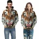Fashion Men's Tiger Hoodies Harajuku Sweatshirt Casual Animal Hoodies Clothes