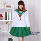 Anime Inuyasha Kagome Cosplay Costume Moneca Stori Women Complete Outfit Uniform