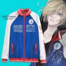 Yuri!!! on Ice Cosplay Yuri Plisetsky Costumes Men Sport Outfits Jackets Coat
