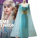 A Song of Ice and Fire Game of Thrones Daenerys Targaryen Dress Halloween Cosplay Costume
