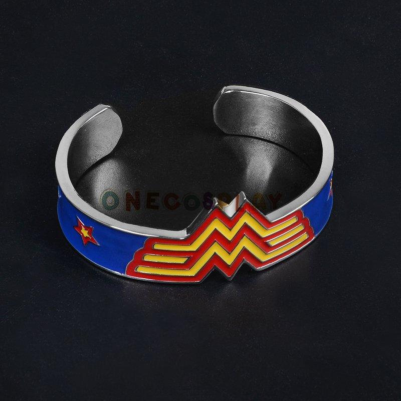 Movie Wonder Woman Metal Bangle Bracelet High Quality Fashion Bangles Christmas