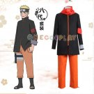 BORUTO -NARUTO THE MOVIE Cos Clothes Uzumaki Naruto 8th Cosplay Costumes  Halloween Ninja Clothes