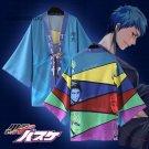 kuroko no Basket TEIKO Chiffon Cloaks Cosplay Costume Kuroko Tetsuya Yukata Kimono Coat Bathrobes