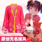 Kabaneri of the Iron Fortress Mumei Chiffon Yukata Pajamas Cloaks Koutetsujou no Kabaneri bathrobes