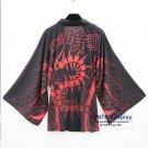 Tokyo Ghoul Bathrobes Chiffon Yukata Cloaks Kaneki Ken Sharingan Unisex Fancy Kimono Coat
