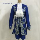 Beauty and the Beast Cosplay Costumes Prince Uniform Men Fancy Party Outfit Full set