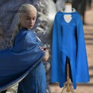 Game of Thrones Daenerys Targaryen Women Sexy Dress with Cloak Song of Ice and Fire Cosplay Costumes
