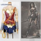 Batman v Superman Dawn of Justice Wonder Woman Adult Kids Diana Prince Uniforms Girls Fancy Costumes