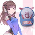 Hot Game D.VA DVA Snapback Caps OW Cute Hats WomenCartoon Rabbit Ear Baseball Summer Caps