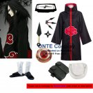 Naruto Cosplay Costumes Akatsuki Orochimaru Cloaks Halloween Party Weapons Shoes