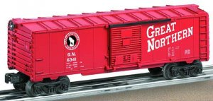 Lionel Great Northern Boxcar #6-36256 Model RR Free Shipping