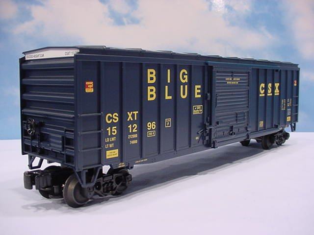 Lionel CSX Big Blue Boxcar #6-17285 Model RR Free Shipping