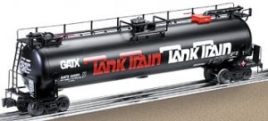 Lionel GATX Tanker Car #6-19647 Model RR Free Shipping