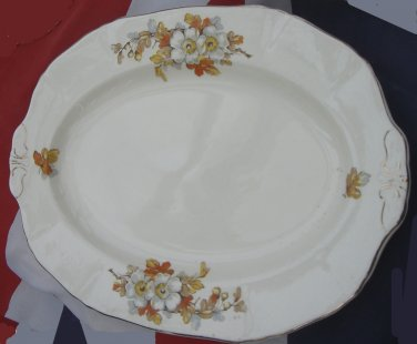 Alfred Meakin - MEAT PLATTER /SERVING PLATE (Small) - Marigold Pattern