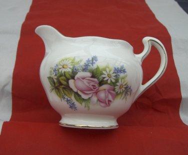 Crown Royal - Bone China Milk/Cream Jug- Posie pattern