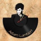 Adam Lambert Wall Clock Vinyl Record Clock