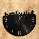 Hobbit Wall Clock Lord Of The Rings Vinyl Record Clock