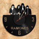 Wall Clock Ramones Vinyl Record Clock