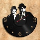Laurel and Hardy Vinyl Record Clock