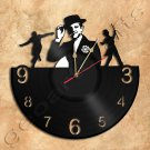 Fred Astaire Wall Clock Theme Record Clock
