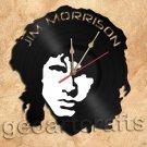 Jim Morrison Vinyl Record Clock