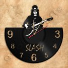 Slash Wall Clock Vinyl Record Clock