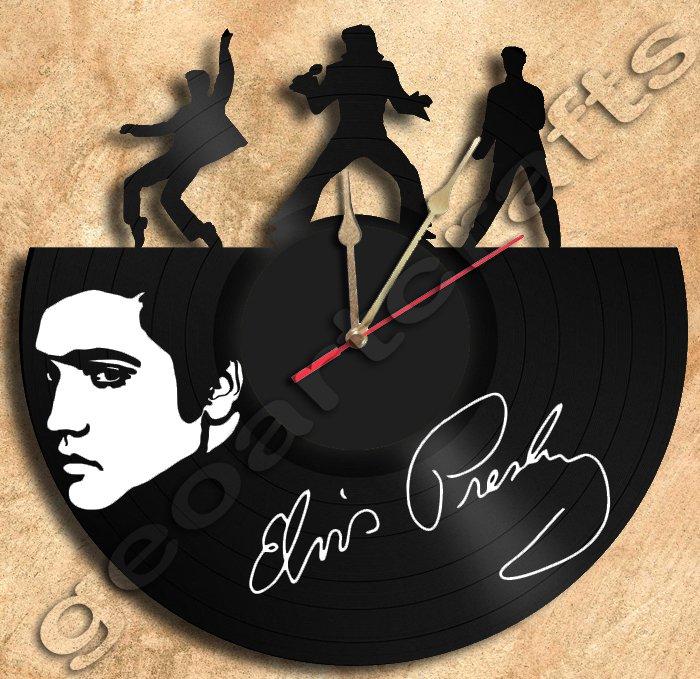 Vintage Elvis Swinging Legs Clock