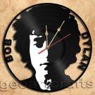 Wall Clock Bob Dylan Vinyl Record Clock
