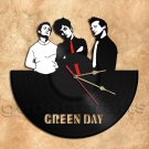 Green Day Band Record Clock