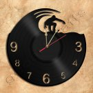 Surf Wall Clock Vinyl Record Clock