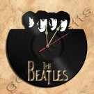 Beatles Clock Vinyl Record Clock